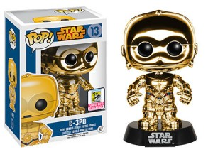 Star Wars: Chrome C-3PO Gold