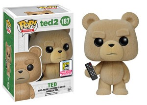 Ted 2: Flocked Ted (with remote)