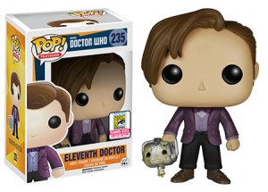 Doctor Who: Eleventh Doctor holding Cyberman Head