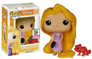 Tangled: Frying Pan Rapunzel and Red Pascal